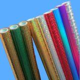 Feuille d'estampage à chaud holographique colorés
