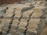Steen van de Richel van het Kwarts van de Sesam van China de Lokale Gele