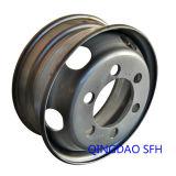 Высокие выполняя стальные безламповые оправы колеса тележки (17.5X6.75)