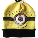 Cappello caldo del Beanie del popolare del jacquard acrilico del Knit di disegno del fumetto personalizzato fabbrica della Cina