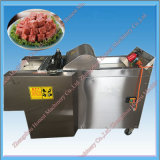 Machine de découpage de cube en viande d'acier inoxydable