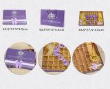 新式の紫色のペーパーチョコレートギフト用の箱、チョコレート包装ボックス