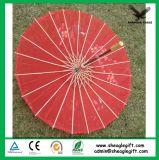 De gepersonaliseerde Afdrukkende Paraplu van het Huwelijk van het Document van het Bamboe