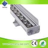 Iluminación del edificio del poder más elevado LED de la pared externa