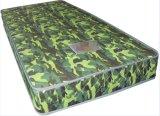 兵士のキャンプの軍の軍隊の使用のばねの柔らかいマットレス