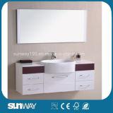 Тщета ванной комнаты Veener горячего сбывания деревянная