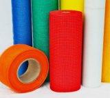 壁の物質的なガラス繊維の網の網