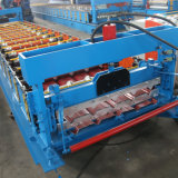 [هيإكسينغ] 1000 لون فولاذ تسقيف معدن [رولّس] آلة