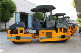 Rodillo de camino vibratorio del neumático hidráulico lleno de 8 toneladas (JM908H)