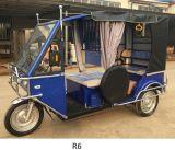乗客のための安い電気3つの車輪車の人力車