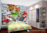 Tissu de mur de toile d'art d'impression de Digitals pour la décoration à la maison