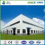 Estructura de acero prefabricada de la construcción de fábrica