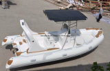 販売の中国の製造業者のためのLiya 19ftの堅い外皮の膨脹可能なボート