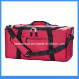 Equipaje de poliéster publicitario clásico Duffle viajar mochila de viaje