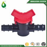 Vávulas de bola del PVC de la irrigación plástica del aislante de tubo mini masculinas