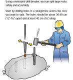 Clavette et cales pour le bloc de fractionnement