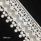 garniture blanche de lacet de 8cm Venise, garniture de guipure, notions de couture, métier, approvisionnements de Scrapbooking, Victorian, mariage, nuptiale, DIY, garniture Hmhb938 de bijou