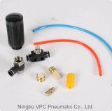 Inserire pneumatico dei montaggi di tubo flessibile del maschio Pl08-02 del gomito del sindacato i montaggi