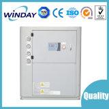 Sistema de refrigeración de agua de refrigeración por aire Chiller en el diagrama de presión del compresor