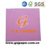 Papel de cor profissional de grande qualidade para fazer do cartão
