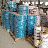 Irrigation plate étendue par pompe bleue de pipe de débit de boyau de la distribution de l'eau de PVC de Layflatm