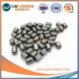 Botón de herramientas de perforación de bits con carburo de tungsteno de las materias primas