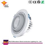 35W witte/Warme Witte LEIDENE Downlights 60 AC 85-265V van de Omwenteling van de Graad het Super Heldere Oppervlakte Opgezette Licht van het Plafond