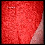 여자의 재킷 또는 폴리에스테 직물을%s 누비질하는 기름 달력 +Computer를 가진 폴리에스테 300t 견주 직물