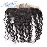 Пачки & Frontal человеческих волос девственницы волны оптовой ранга индийские свободные