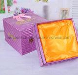 صنع وفقا لطلب الزّبون يستعصي صندوق من الورق المقوّى مع غطاء لأنّ مستحضر تجميل/عطر