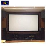 Xyscreen 92インチのHK80c音Max4K壁に取り付けられた音響伝達固定わくの映写幕