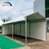 tenda libera di alluminio del passaggio pedonale di mostra della portata di 3X33m per la fiera commerciale