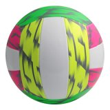 Volleyball de couture fluorescent de machine de couleur légère