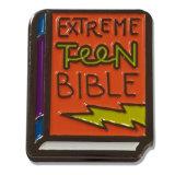 Metal personalizado Extreme Teen livro bíblico do pino de lapela para Dom