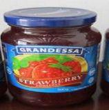Qualité Premium récolte fraîche Glass-Jar Emballage Confiture de fraises