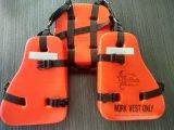 Пена PVC работников масла 3 части тельняшки спасательного жилета