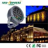 Proiettore impermeabile esterno di IP66 24W LED per l'accensione di /Square/Garden