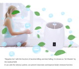 Purificador de Ar de fluxo de aroma multifunção com iões de ozono para a Home