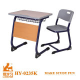 Wooden Student Desk and Flesh for Middle School