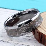 Stap de van uitstekende kwaliteit van de Juwelen van het Wolfram - onderaan Ring van de Knoop van de Mensen van Randen de Keltische