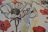 Tissu de tricotage estampé par tissu bon marché de Knit de polyester
