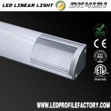 Chanel ligero LED, perfil de aluminio de Hafele, ventilador del perfil inferior