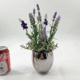 De galvaniserende Decoratie van de Lavendel van de Pot Kunstmatige Purpere