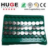 batteria alcalina delle cellule del tasto di serie 1.5V AG