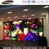 El panel de visualización a todo color de interior de LED de la tablilla de anuncios de LED P2.5