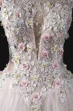 """Casamento original """"sexy"""" do vestido nupcial de China do baile de finalistas da noite do vestido de esfera do projeto"""