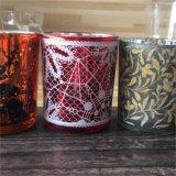 Candela di vetro del vaso per la decorazione del partito