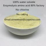 Enzymolysis 아미노산 80% 공장, 염소, 수용성 100%, Omri는 증명했다