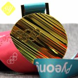 주문 Soccor 야구 기념품 명예 금속 메달 달리기