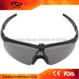 Anti vetri di colpo delle graffiature degli occhiali di protezione militari di plastica tattici all'ingrosso